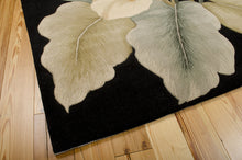 Load image into Gallery viewer, Nourison Tropics Black Area Rug TS08 BLK (Rectangle)