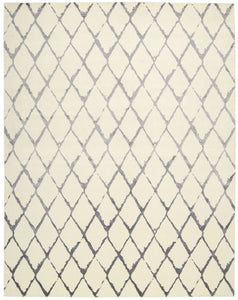 Nourison Twilight Ivory Grey Area Rug TWI15 IVGRY