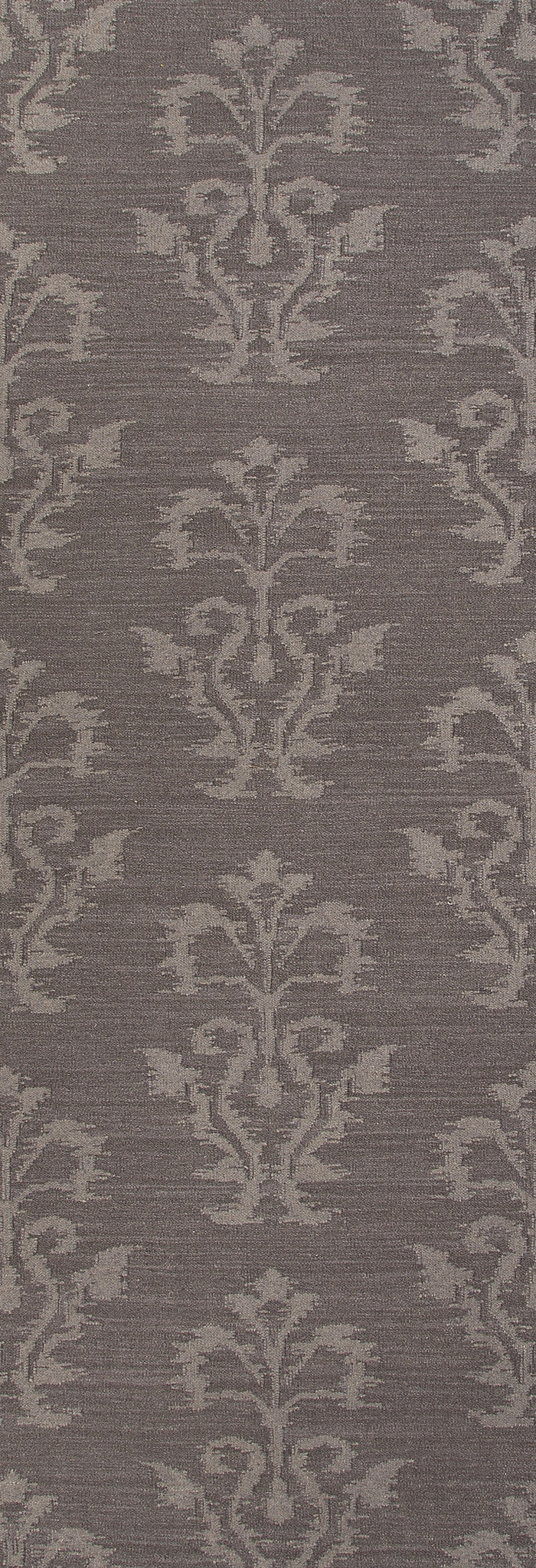 Jaipur Rugs Flat-Weave Tribal Pattern Gray Wool Area Rug