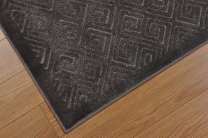 Nourison Ultima Silver Grey Area Rug UL323 SILGY (Rectangle)