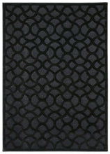 Load image into Gallery viewer, Nourison Ultima Black Area Rug UL392 BLK