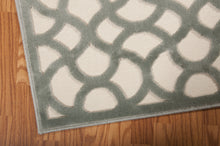 Load image into Gallery viewer, Nourison Ultima Ivory Aqua Area Rug UL392 IVAQU (Runner)