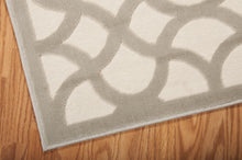 Load image into Gallery viewer, Nourison Ultima Ivory Silver Area Rug UL392 IVSIL