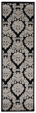 Load image into Gallery viewer, Nourison Ultima Black Grey Area Rug UL513 BLKGY