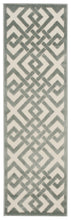 Load image into Gallery viewer, Nourison Ultima Ivory Aqua Area Rug UL628 IVAQU
