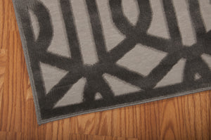 Nourison Ultima Silver Grey Area Rug UL630 SILGY (Runner)