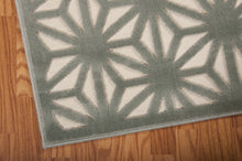 Load image into Gallery viewer, Nourison Ultima Ivory Aqua Area Rug UL631 IVAQU (Runner)