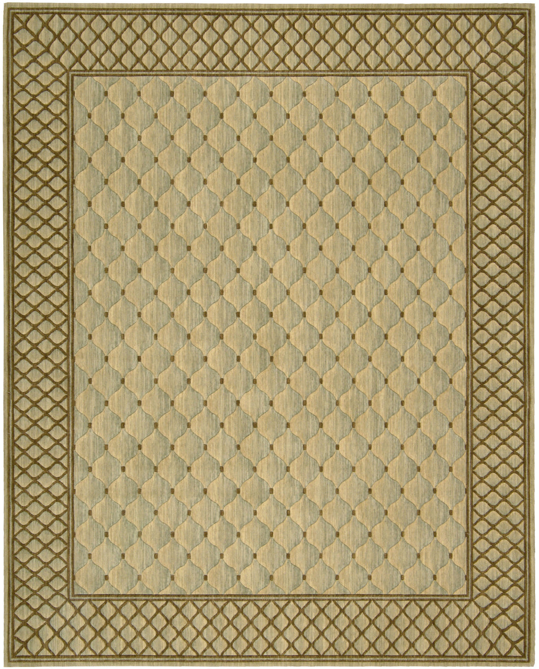 Nourison Vallencierre Light Green Area Rug VA26 LTG