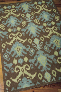 Nourison Vista Chocolate Area Rug VIS20 CHO