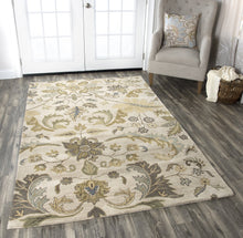 Load image into Gallery viewer, Rizzy Home Volare VO1607 Ivory Floral Area Rug