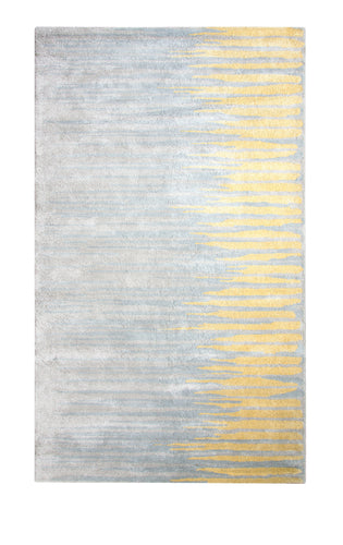 Dynamic Rugs Vogue Gold Modern Rectangle Area Rug