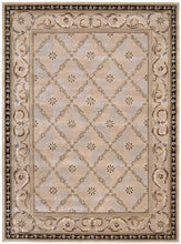 Load image into Gallery viewer, Nourison Versailles Palace Beige Area Rug VP06 BGE