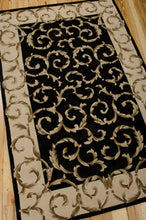 Load image into Gallery viewer, Nourison Versailles Palace Black Area Rug VP43 BLK