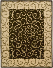 Load image into Gallery viewer, Nourison Versailles Palace Chocolate Area Rug VP43 CHO