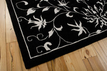Load image into Gallery viewer, Nourison Versailles Palace Black White Area Rug VP49 BKW