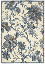 Load image into Gallery viewer, Waverly Artisanal Delight Felicite Indigo Area Rug By Nourison WAD06 IND