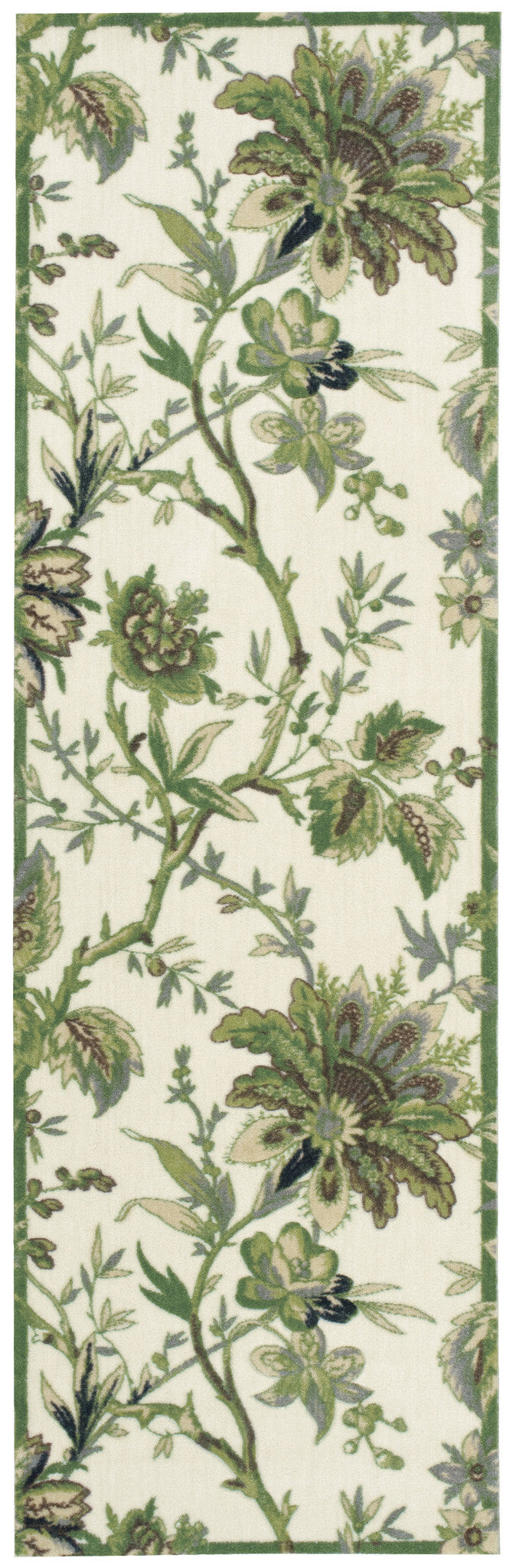Waverly Artisanal Delight Felicite Leaf Area Rug By Nourison WAD06 LEAF