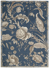 Load image into Gallery viewer, Waverly Artisanal Delight Fanciful Indigo Area Rug By Nourison WAD07 IND