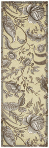 Waverly Artisanal Delight Fanciful Ironstone Area Rug By Nourison WAD07 IRONS