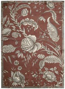 Waverly Artisanal Delight Fanciful Russet Area Rug By Nourison WAD07 RUSSE