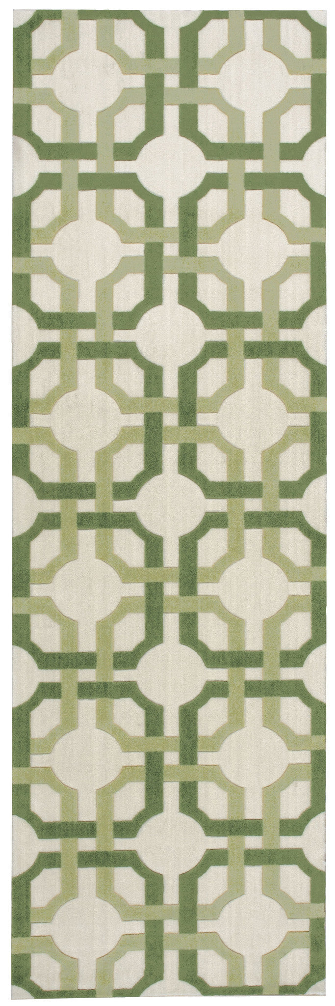 Waverly Artisanal Delight Groovy Grille Leaf Area Rug By Nourison WAD09 LEAF