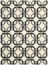 Load image into Gallery viewer, Waverly Artisanal Delight Groovy Grille Licorice Area Rug By Nourison WAD09 LICOR