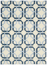 Load image into Gallery viewer, Waverly Artisanal Delight Groovy Grille Sky Area Rug By Nourison WAD09 SKY