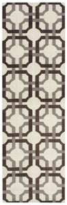 Waverly Artisanal Delight Groovy Grille Tobacco Area Rug By Nourison WAD09 TOBAC