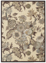 Load image into Gallery viewer, Waverly Artisanal Delight Graceful Garden Birch Area Rug By Nourison WAD20 BIRCH