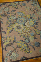 Load image into Gallery viewer, Waverly Artisanal Delight Graceful Garden Blue Jay Area Rug By Nourison WAD20 BLJAY