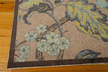 Load image into Gallery viewer, Waverly Artisanal Delight Graceful Garden Blue Jay Area Rug By Nourison WAD20 BLJAY (Rectangle)