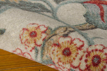 Load image into Gallery viewer, Waverly Artisanal Delight Graceful Garden Poppy Area Rug By Nourison WAD20 POPPY