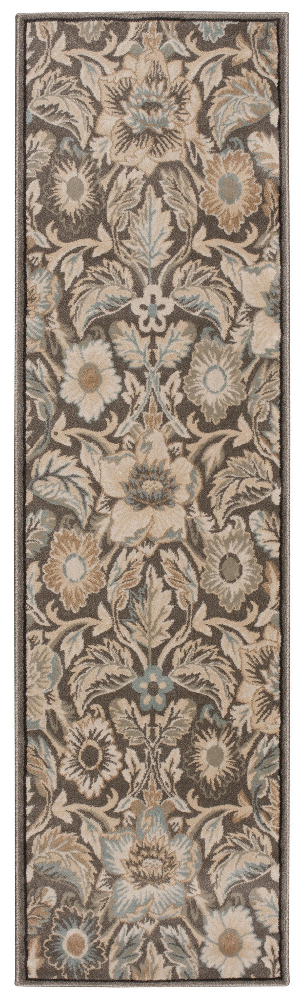 Nourison Walden Grey Area Rug WAL02 GRY
