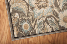 Load image into Gallery viewer, Nourison Walden Grey Area Rug WAL02 GRY (Runner)