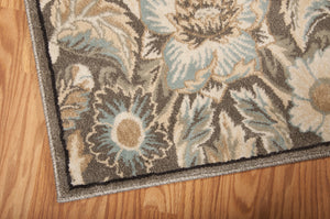 Nourison Walden Grey Area Rug WAL02 GRY (Runner)