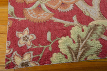 Load image into Gallery viewer, Waverly Global Awakening Imperial Dress Garnet Area Rug By Nourison WGA01 GARNT (Rectangle)