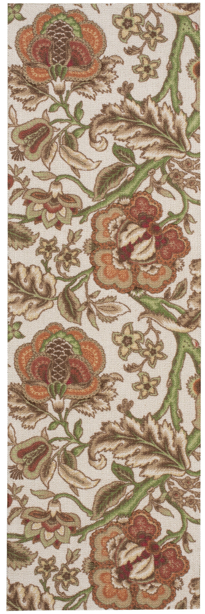 Waverly Global Awakening Imperial Dress Pear Area Rug By Nourison WGA01 PEAR