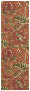 Waverly Global Awakening Imperial Dress Spice Area Rug By Nourison WGA01 SPICE
