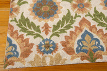 Load image into Gallery viewer, Waverly Global Awakening Santa Maria Pear Area Rug By Nourison WGA03 PEAR (Rectangle)