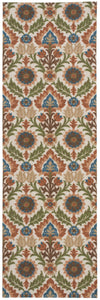 Waverly Global Awakening Santa Maria Pear Area Rug By Nourison WGA03 PEAR