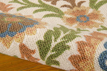 Load image into Gallery viewer, Waverly Global Awakening Santa Maria Pear Area Rug By Nourison WGA03 PEAR