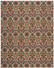Load image into Gallery viewer, Waverly Global Awakening Santa Maria Spice Area Rug By Nourison WGA03 SPICE