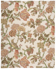 Load image into Gallery viewer, Waverly Global Awakening Casablanca Rose Pear Area Rug By Nourison WGA05 PEAR