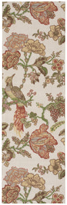 Waverly Global Awakening Casablanca Rose Pear Area Rug By Nourison WGA05 PEAR