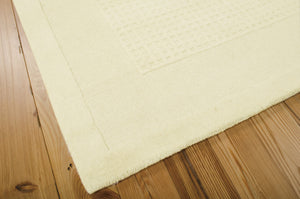 Nourison Westport Ivory Area Rug WP20 IV (Rectangle)