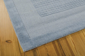 Nourison Westport Blue Area Rug WP30 BL (Rectangle)