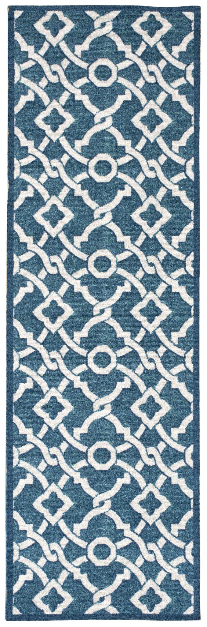 Waverly Treasures Artistic Twist Blue Jay Area Rug By Nourison WTR01 BLJAY
