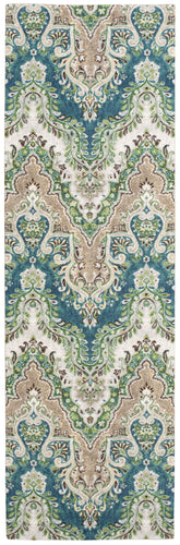 Waverly Treasures Palace Sari Prussian Area Rug By Nourison WTR02 PRUSS