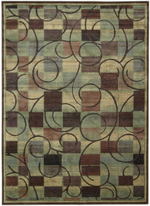 Nourison Expressions Brown Area Rug XP01 BRN