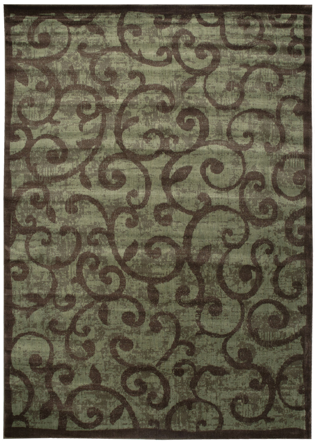 Nourison Expressions Brown Area Rug XP02 BRN